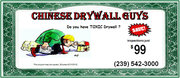 Chinese Drywall Inspections for just $99!