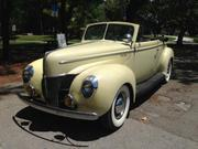 Ford 1940 Ford: Deluxe Convertible Deluxe