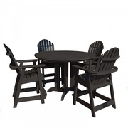 All Weather Outdoor 5 Piece Round Counter Dining Set