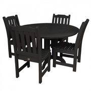 Outdoor 5pc Round Dining Set