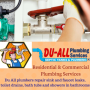 Best Plumbing and Septic Services St. Lucie | Du all Plumbers