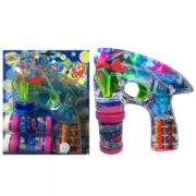 LAZER Bubble BLASTER WITH FLASHING LIGHTS HIGH PERFORMANCE BATTERY'S E