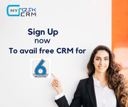 Use MydeskCRM for free to  efficiently track your Sales process