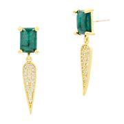 Choose Freida Rothman Harmony Pave Dagger Drop Earrings